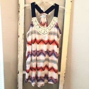 Maurices Tank Blouse Size 2X